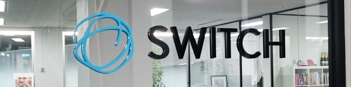Entrance to Switch Office