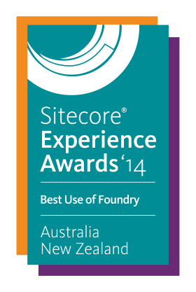 Sitecore Experience Award 2014 - Best Use of Foundry