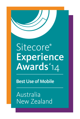 Sitecore Experience Award 2014 - Best Use of Mobile