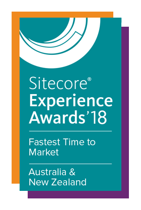 Sitecore Experience Award 2018 - Fastest Time to Market