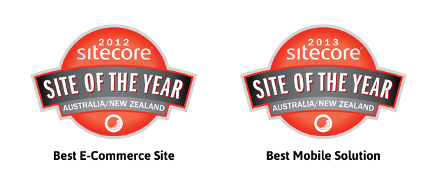 Multiple Sitecore Awards for Tyreright in 2012 and 2013